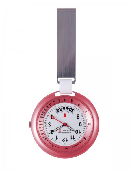Swiss Medical Fob Watch Pink