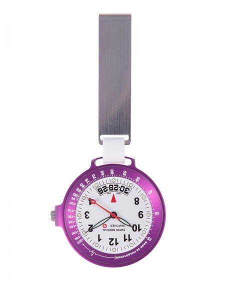 Reloj Swiss Medical Care Line Morado