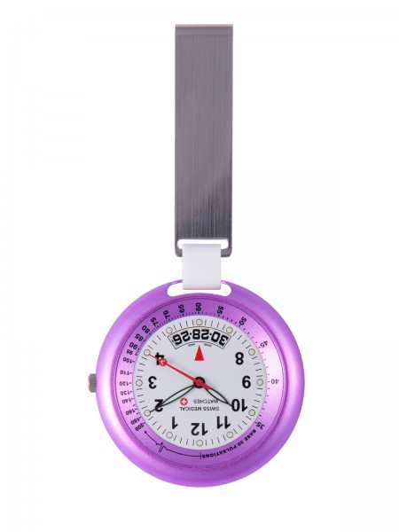 Swiss Medical Fob Watch Purple